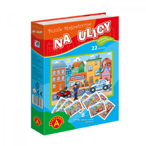 NA ULICY - Puzzle magnetyczne - Alexander